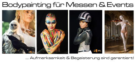 Bodypainting, NRW, Dortmund, Düsseldorf, Köln, Hannover, Marlies Brinker Rheine