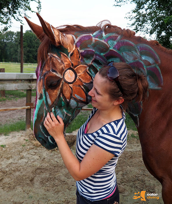 Faszination Bodypainting: HORSE PAINTING mit Fotoshooting by Marlies Brinker, Rheine NRW