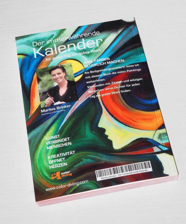 Kalender, Bodypainting, Marlies Brinker, Fotoshooting, Taschenbuch, Bodypainting, Softcover