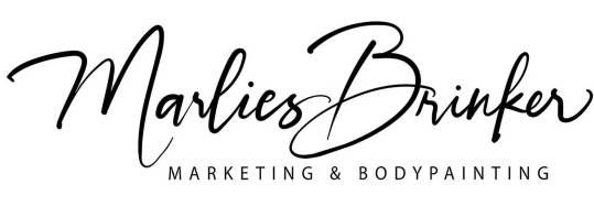 Marketing, Bodypainting, body painting, fotoshooting, Körperkunst, professionelles Bodypainting, Messen, Düsseldorf, Köln, Dortmund, Essen, Marlies Brinker, Logo