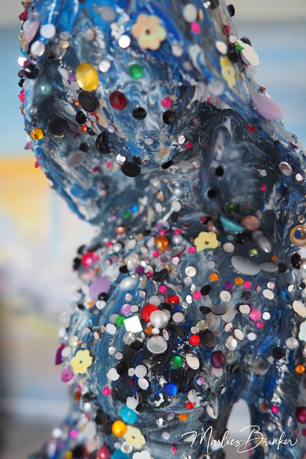Skulptur, Acryl, Pouring, Marlies, Brinker, Bodypainting, Fotoshooting, Kunst, Pferd, bemalen, Horse, Painting, Farben, Farbemrausch, blau, beste, professionell, kreativ, individuell, Pferdekostüm